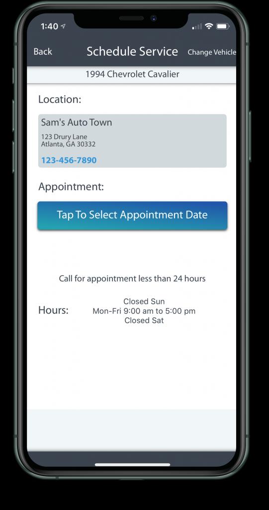 CarRx Vehicle Maintenance software app preview 3