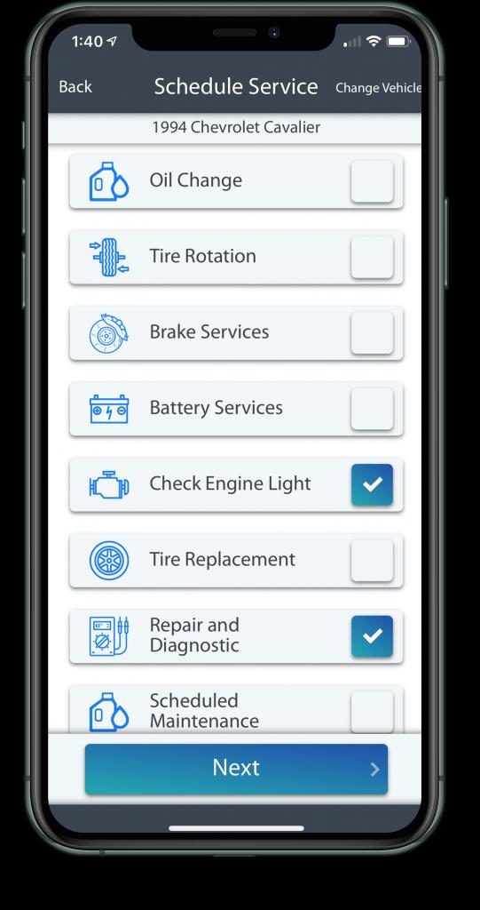 CarRx Vehicle Maintenance software app preview 2